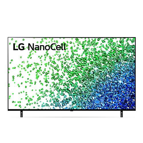"LG NanoCell 50NANO806PA Smart TV LED 4K Ultra HD 50"" 2021 con Processore Quad Core 4K, Wi-Fi, webOS 6.0, FILMAKER MODE, Game Optimizer, Google Assistant e Alexa Integrati, Telecomando Puntatore"