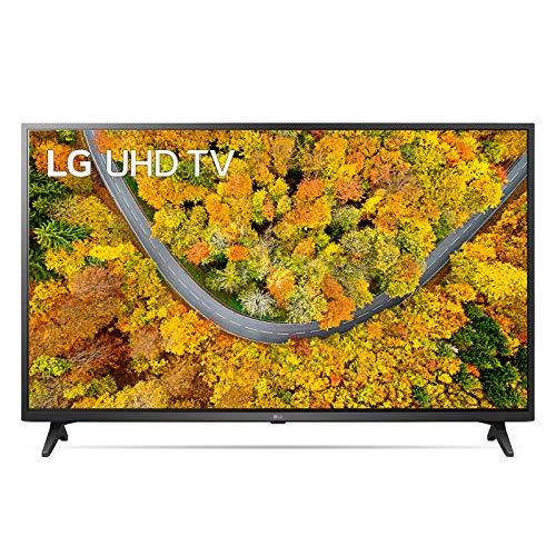 """LG 65UP75006LF Smart TV LED 4K Ultra HD 65"""" 2021 con Processore Quad Core 4K, Wi-Fi, webOS 6.0, FILMMAKER MODE, Game Optimizer, Compatibile con Google Assistant e Alexa"""